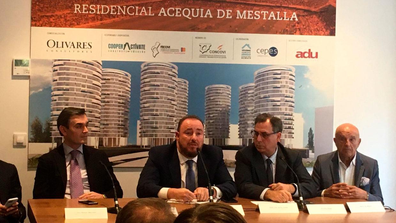 El Valencia CF y Adu Mediterráneo refuerzan su compromiso de sacar adelante el proyecto Mestalla